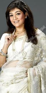 White Moslin Saree
