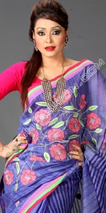 Bangladeshi Andy Silk  Dhakai Jamdani Saree, Eid Collection 2014, Saree, Sharee, Sari, Bangladeshi Saree