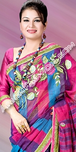 Half Silk Saree Eid Collection 2014, Saree, Sharee, Sari, Bangladeshi Saree