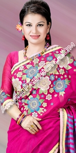 Half Silk Sharee Eid Collection, Saree, Sharee, Sari, Bangladeshi Saree