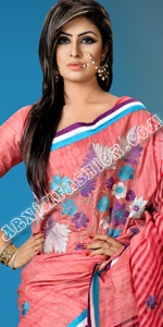 Andy Silk & Moslin Dhakai Jamdani Saree, Eid Collection 2014, Saree, Sharee, Sari, Bangladeshi Saree